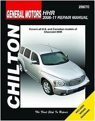 repair manual chilton 28670 fits 06 11 chevrolet hhr ebay rh ebay com