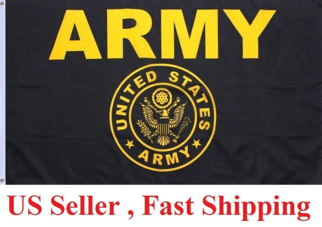 Size 5x3 Feet UNITED STATES MILITARY FLAGS US ARMY STAR FLAG