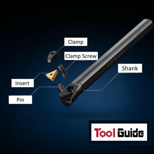 93° S20R S25S S32T S40T MTUNR 16 Lathe Tool Holder Boring Bar Carbide Internal