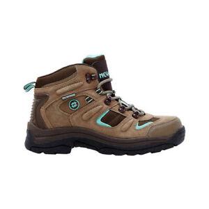 Nevados Women's Klondike Waterproof Mid Hiking Boot Shitake Brown/Dark