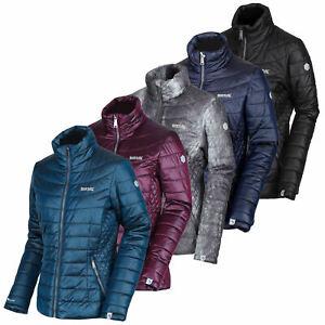 Regatta Womens Metallia Atomlight Insulated Jacket Top Grey Sports Outdoors Full