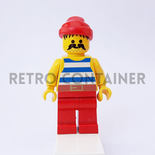 Pirate Pirati Omino Minifig Renegade Runner 6268 1x pi076 LEGO Minifigures