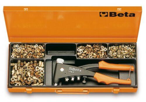 C4 rivet écrou pinces ensemble rivetage Kit de 400 Rivnuts inserts Outils Beta 1742