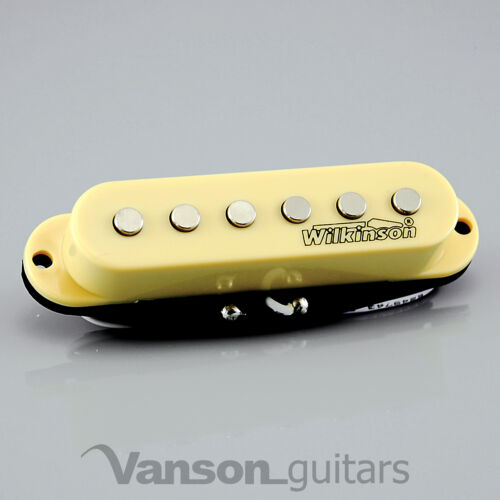 IVORY MWHS 1 x NEW Wilkinson HOT Single Coil Pickup for Strat®* guitars