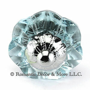 Arctic-Glass-Cabinet-Knobs-Kitchen-Drawer-Pulls-Art-Deco-Handle-K186F-CH