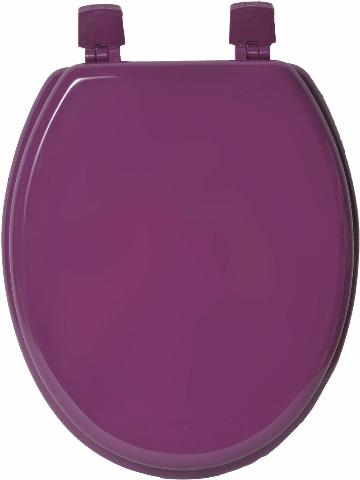 EVIDECO Elongated Toilet Seat Solid Solid Solid Farbe rot, lila  Wood, 17.5 L X 14.75 W 987bc4