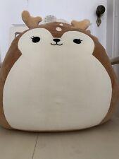 """Kellytoy Squishmallow 2020  Dawn the Fawn Deer 8/"""" Super Soft Plush Doll Nwt"""