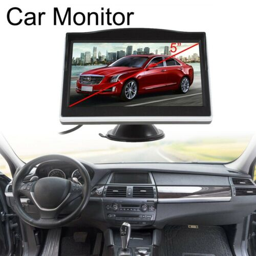 5 pouces Moniteur d/'ecran TFT LCD HD Apparail photo Camera de recul arri 7N3 1X