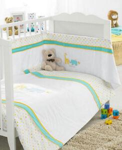 New Lollipop Lane Polka Design 3 Piece Bedding Set Quilt-Bumper-Fitted Sheet
