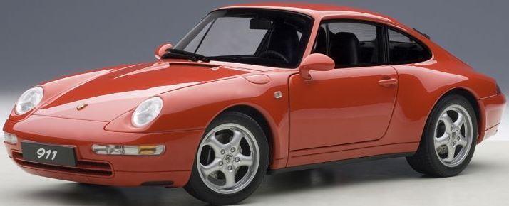 Autoart 78132 - 1 18 Porsche 993 Carrera (1995) - Red - Neu