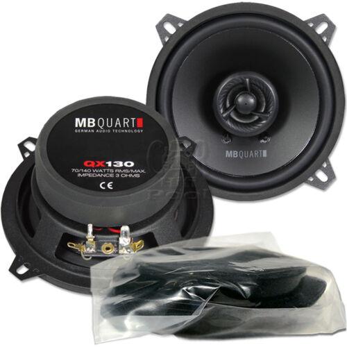 MB Quart QX 130 CF 13cm coaxial altavoces par para bmw 3er e46