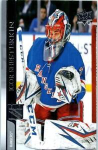 2020-21 UPPER DECK NHL Hockey Trading Card of  IGOR SHESTERKIN #123