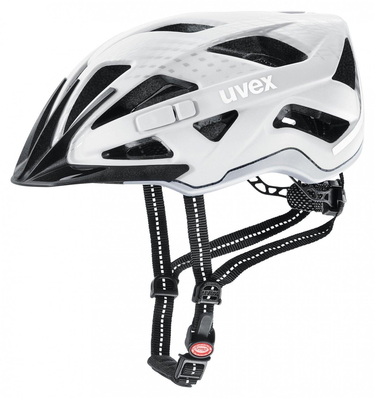 Uvex Fahrrad Helm Helm Helm city active - Weiß mat c375da