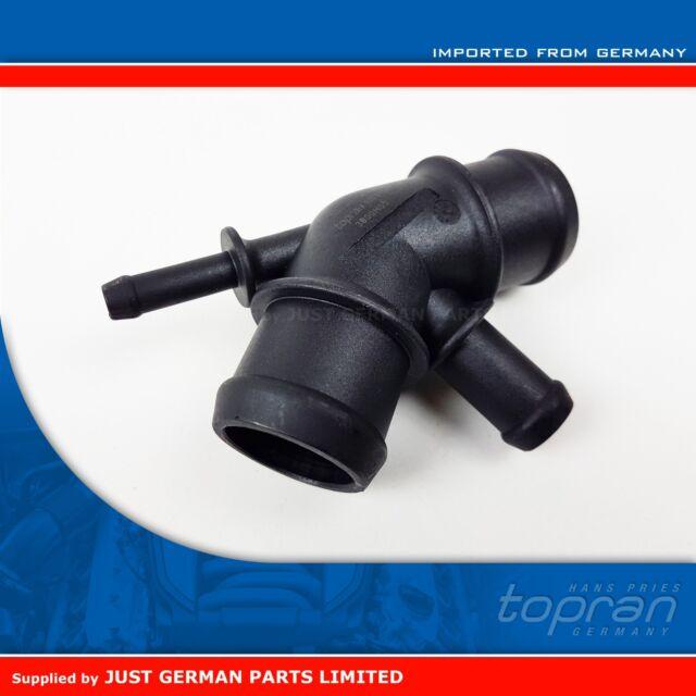 1.6 2.0 Petrol Upper Radiator Coolant Hose Distributor Flange VW Audi 1J0121087A