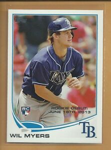 Wil-Myers-RC-2013-Topps-Update-Rookie-Card-US26-San-Diego-Padres-Baseball