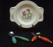 International Silver Co - Child Dinner Plate + Bonus  Made by Salem China Co.