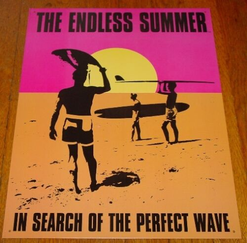 THE ENDLESS SUMMER IN SEARCH OF A PERFECT WAVE Surfing Surfer Beach Sign Decor