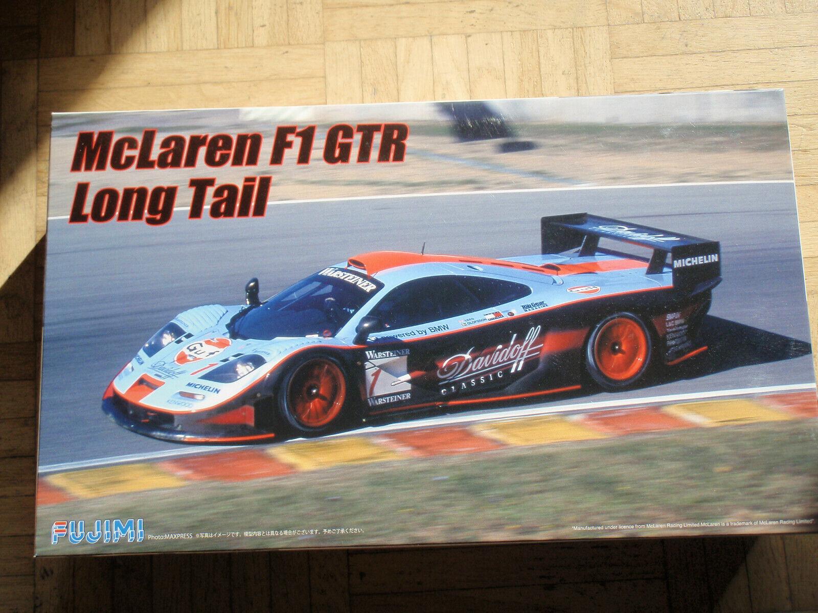 Plastikmodellbausatz Fujimi McLaren F1 GTR Long Tail, 1 24