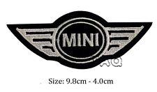 Mini Cooper logo racing biker car embroidered iron on patch badge motor # M03