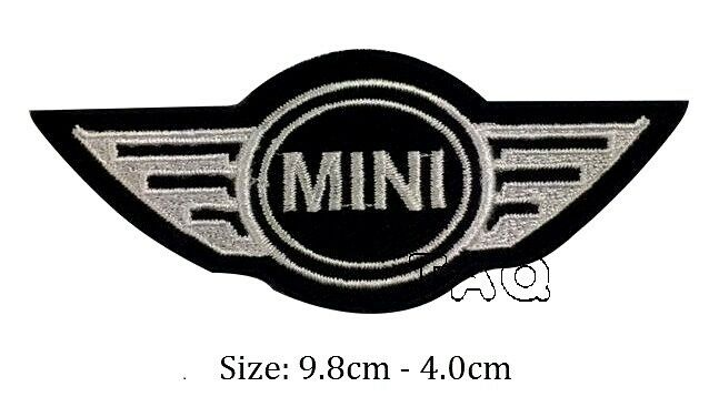 Mini Cooper Logo Racing Biker Car Embroidered Iron On Patch Badge Motor M03 For Online Ebay