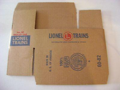 Lionel N0 60 Corrugated Trolley Car Box