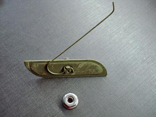 6 pcs NOS rear fender moulding clips /& nuts fits 1957 Oldsmobile 88 /& 98
