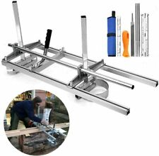 Chainsaw Mill Portable Planking Milling 14 To 36 Inches Guide Bar Wood Lumber