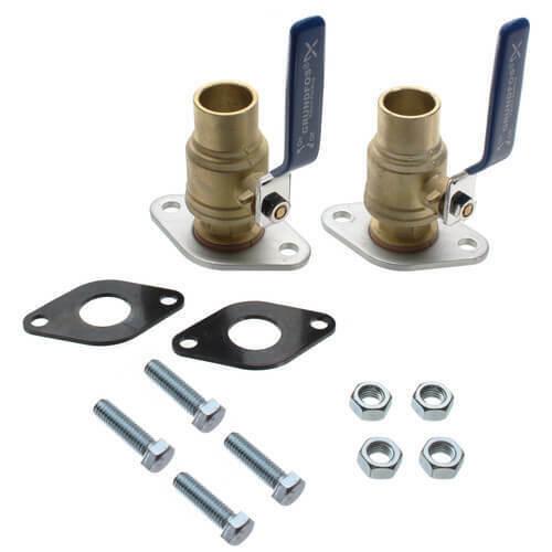 "Pump Isolation Flange Kit 1 1//4/"" Sweat /""Free Floating/"" Inc Nut /& Bolt 125-SWT"