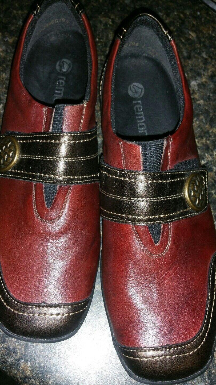 Remonte dark red  Slip-on shoes  size 7