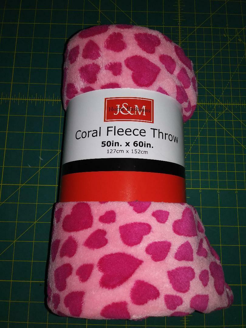 Valentine Candy Hearts Plush Throw Blanket For Sale Online Ebay
