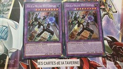 NEOS DE LA NEBULEUSE HEROS ELEMENTAIRE CT15 SECRETE RARE CARTE YUGIOH