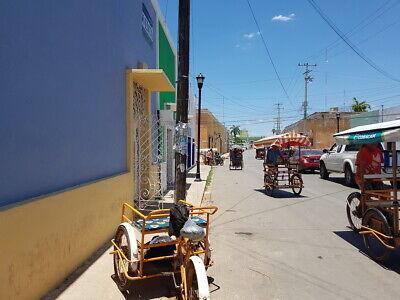 Local comercial remodelado en la avenida principal de Hecelchakán, Campeche