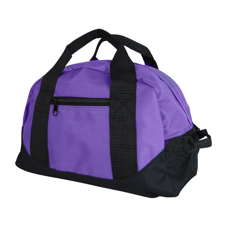 8162c7823758 Girls Purple Duffel Bag Womens Mini Yoga Gym Sports Pilates Cute ...