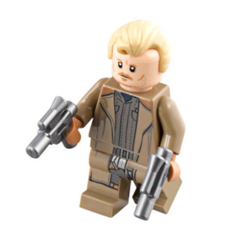 LEGO STAR WARS Tobias Beckett brand new from Lego set #75215 Han Solo Movie