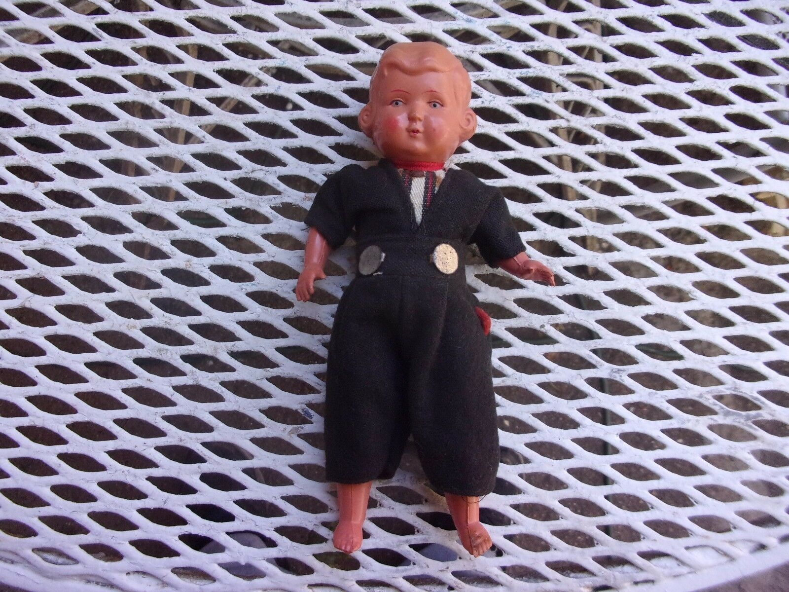 SMALL CELLULOID BOY DOLL  7