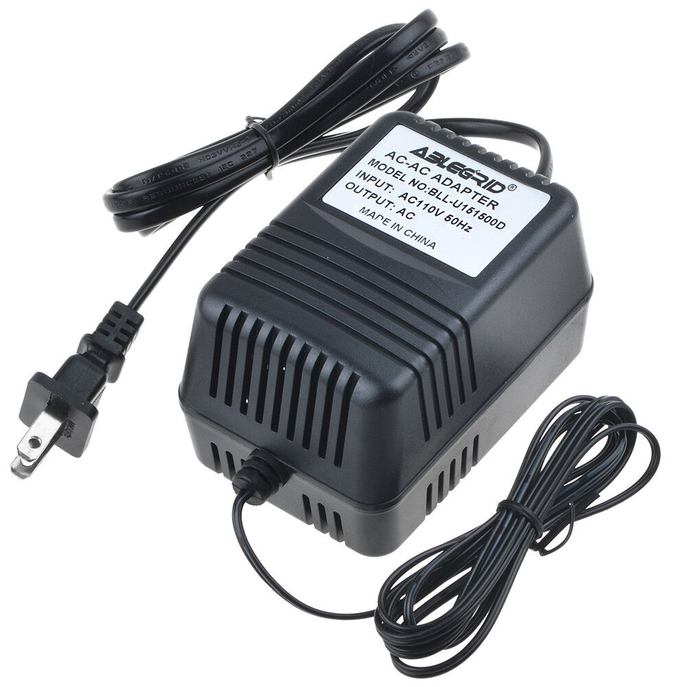 9V AC Adapter for ALESIS Model: U090085A 9VAC 850mA ITE Power Supply Charger PSU