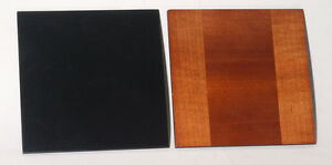 """1 wooden lens board 5""""x5"""" for HOME PORTRAIT GRAFLEX 5""""x7"""" made of Maple, free Ø"""