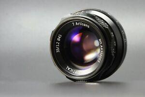 REAL-EU-SHIP-7Artisans-35mm-f-1-2-manual-lens-for-Micro4-3-mount-M4-3-MFT