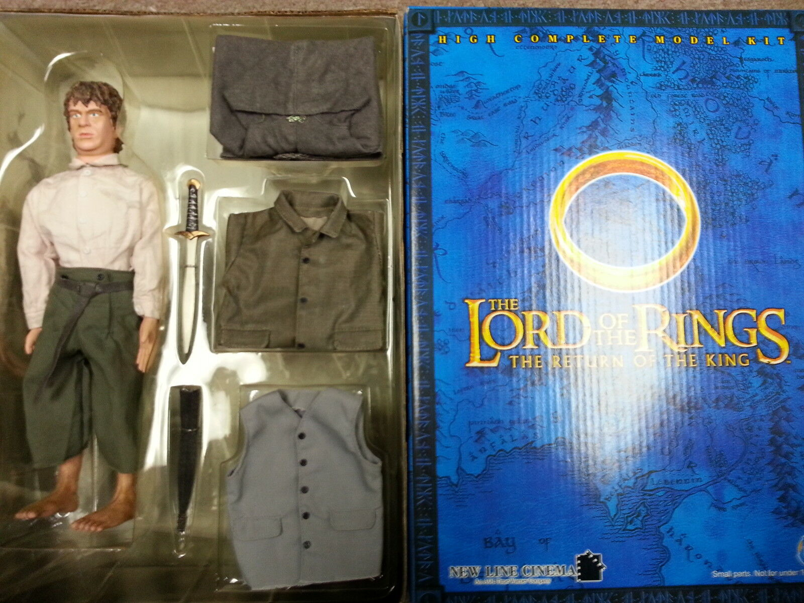 Lord of the Rings Samwise Gamgee  Sam  made by DID 1 6th Scale Action Figure