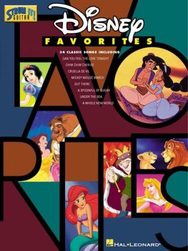 Disney Favorites Sheet Music Strum It Guitar NEW 000699171