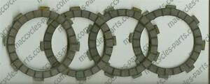 Kawasaki-Clutch-Plates-G-4TR-1970-75-4pcs-NEW