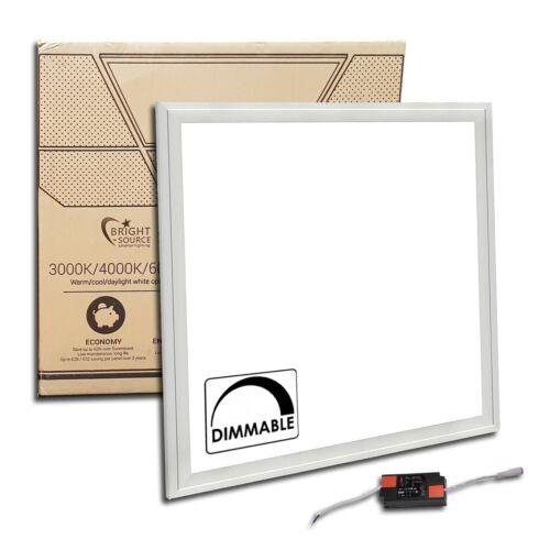 Cool? 600 x 600mm LED Panel Dimmbar Notfall /& Oberfläche Montiert ?Warm