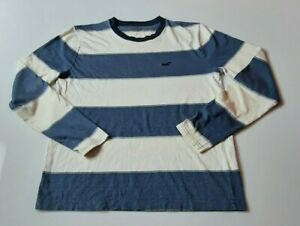 Mens-Hollister-Striped-Long-Sleeve-T-Shirt-Size-Small