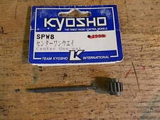 SPW-8 SPW8 Center One-Way Shaft & Pulley - Kyosho Pure Ten TF-2 TF-3 EP Spider
