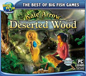 Kate Arrow Deserted Wood  a Hidden Object Adventure  PC Win 7 8 10 Vista XP  NEW