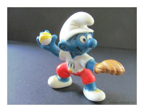 Schleich personaje los pitufos baseballwerfer Pitufo #99#