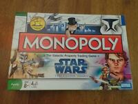 2008 Monopoly Star Wars The Clone Wars Parker Bros Opened For Photos
