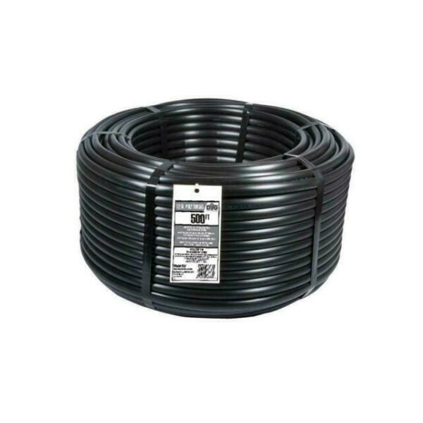 1//2 in 0.710 O D x 500 ft Poly Drip Irrigation Tubing Watering System Main Line
