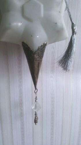 Glass Antique Finish Star Details about  /SALE 40/% 23 cm-  show original title White-Silver Shabby BROCANTE