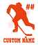 Custom-Hockey-Player-Number-Name-Vinyl-Decal-Window-Sticker-Car thumbnail 9